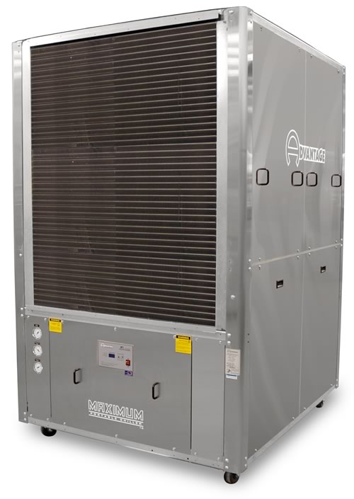 15 20 Ton Water Chiller Fan Or Blower Air Cooled