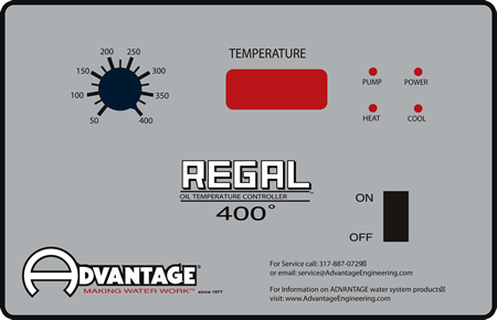 Regal Series 400 degree Control Instrument