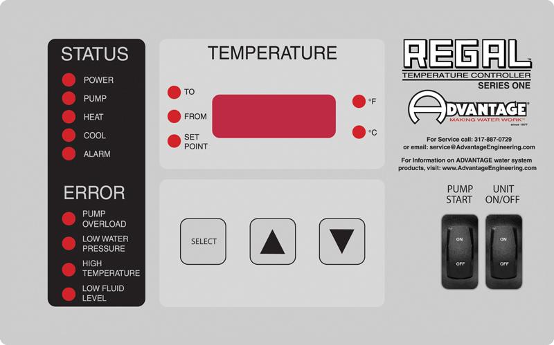 Regal LE Control Instrument