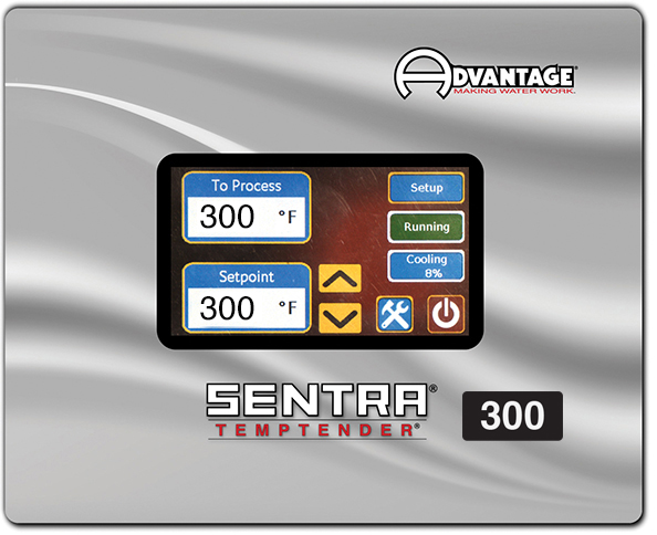 Sentra T300 Series Control Instrument -- maximum temperature to 300°F.