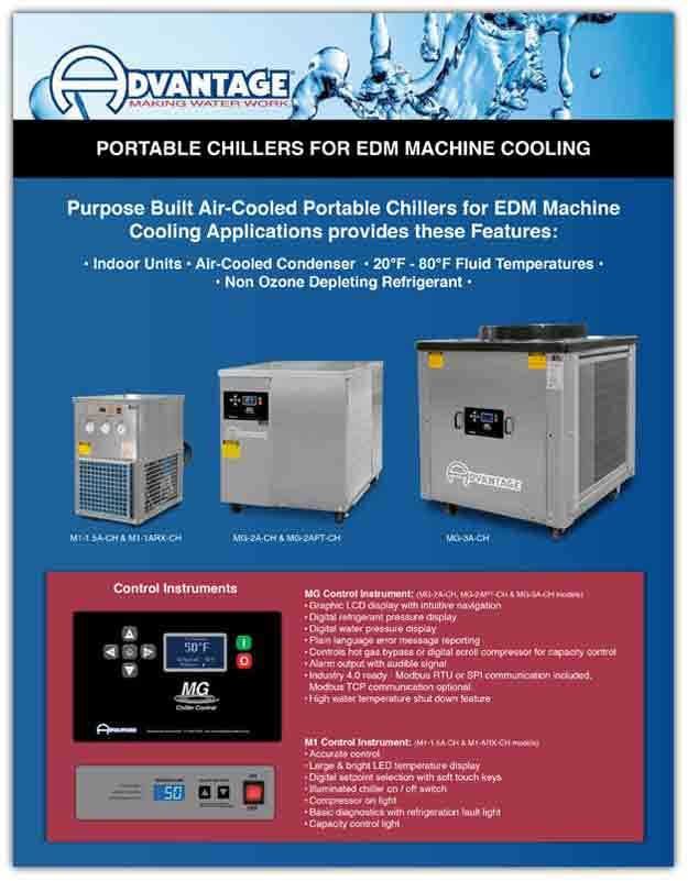 Download EDM Portable Chiller Literature