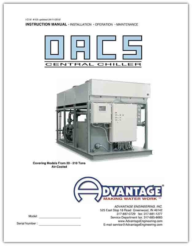 OACS Central Chiller Manual