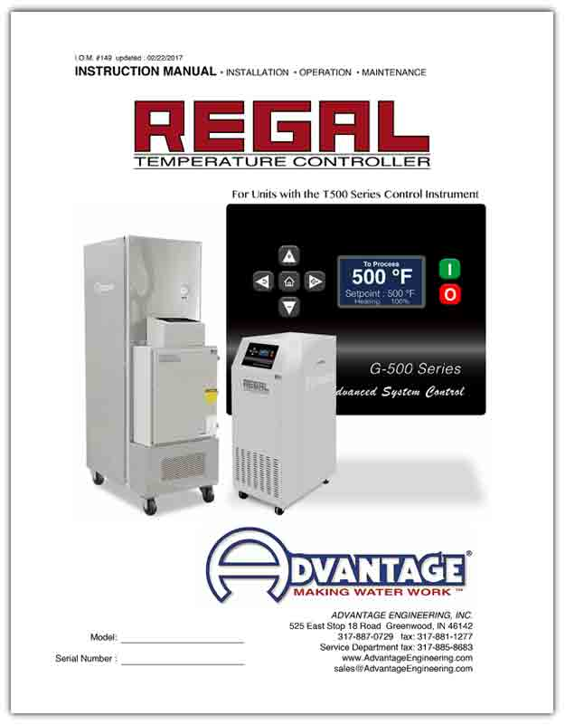 Download Regal Series Oil Units with G500 instruments