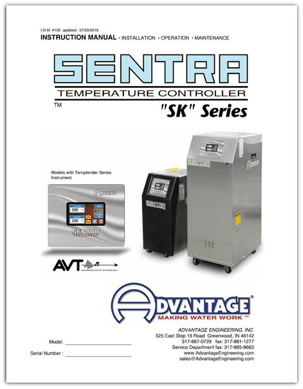 Download the Sentra Temptender Manual