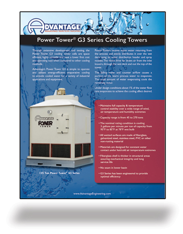 Cooling Towers Literature Power Tower Series