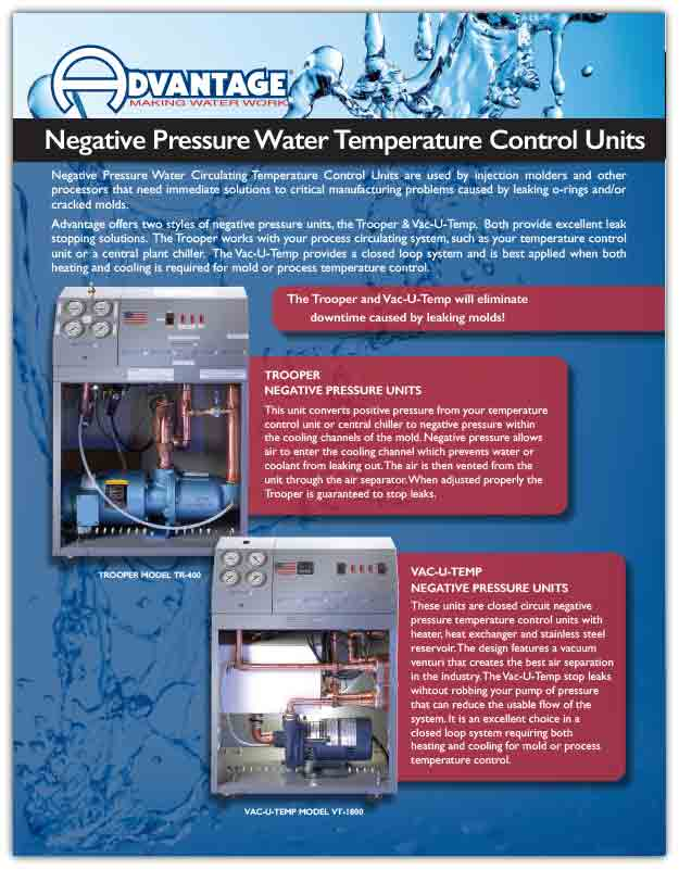 Negative Pressure Units Download Trooper Series Product Literature