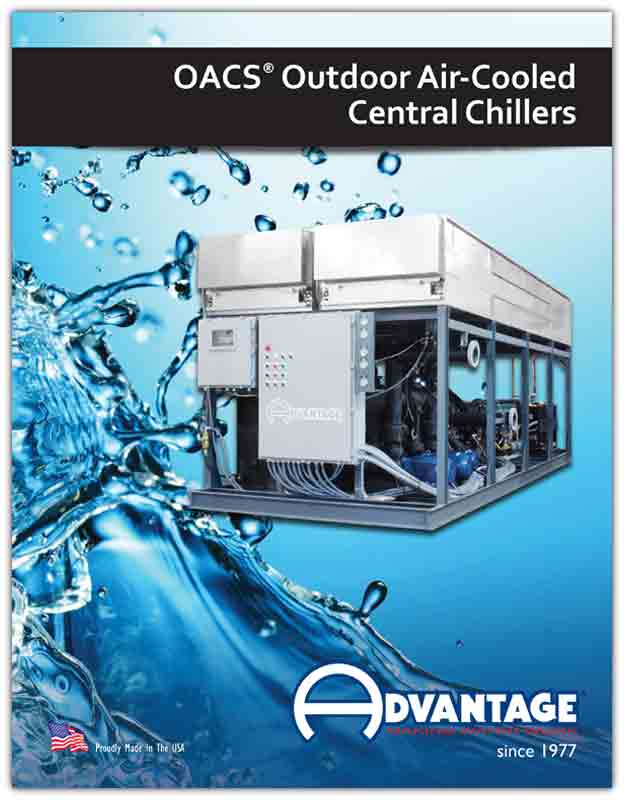 OACS Outdoor Air-Cooled Chiller with Integral Tank & Pump