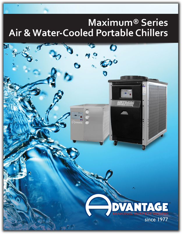 Literature for Maximum portable chillers from .25 - 40 tons