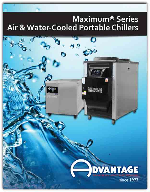Portable Water Chillers 5 - 40 Tons with MG Control
