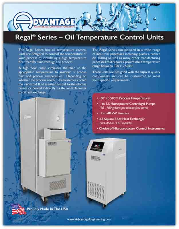 Download Literature For Regal Temperature control Units