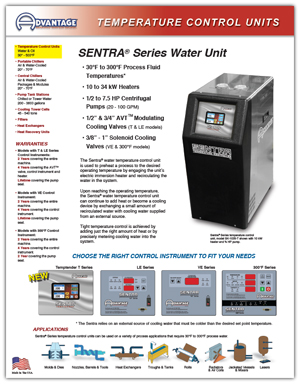 Download Sentra Temperature Control Unit Literature