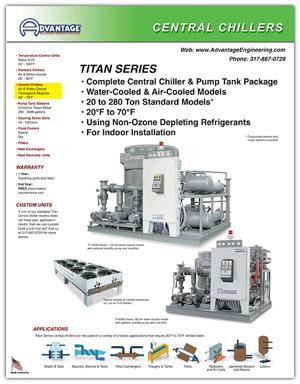 Advantage Centra Chiller : Titan Series
