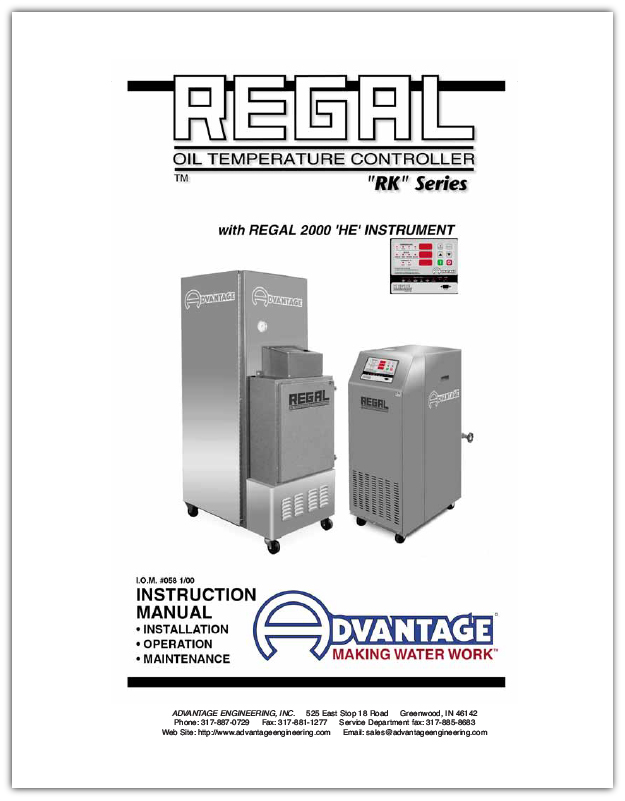 Download Regal Series Oil Units with HE instruments
