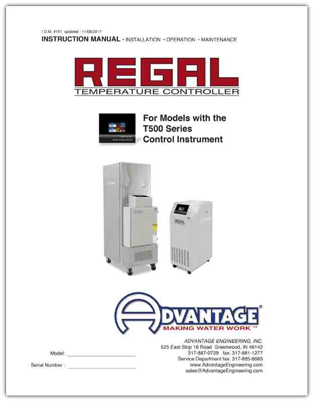 Download Regal Series Oil Units with T500 instruments