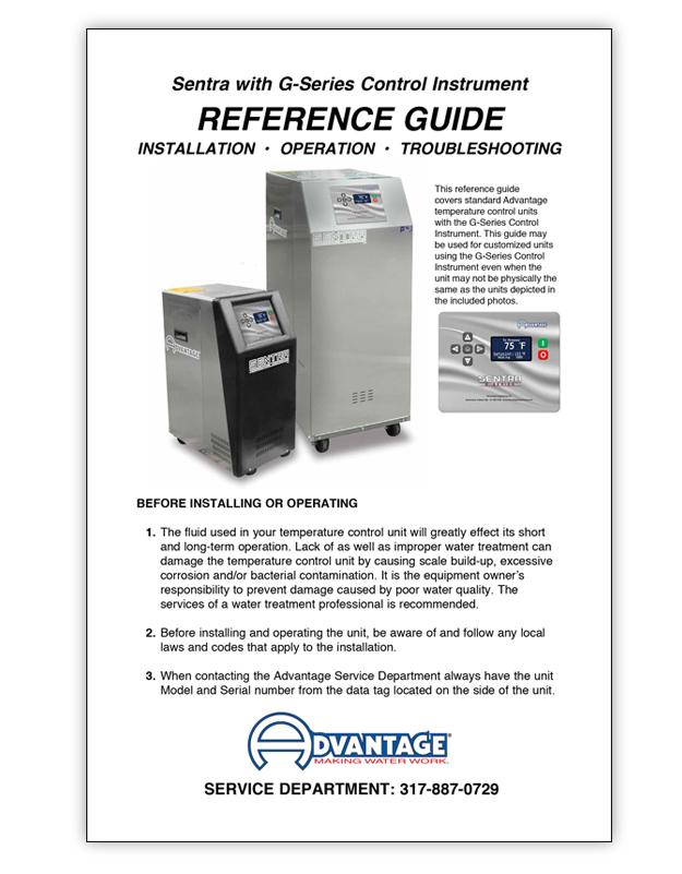 Temperature Control Unit | 10kW 100 GPM | SK-1080-G